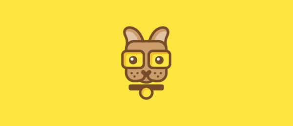cute-puppy-logo-nerdy-boy